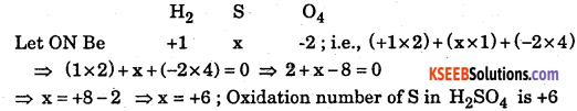 1st PUC Chemistry Question Bank Chapter 8 Redox Reactions - 124