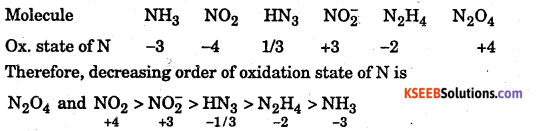 1st PUC Chemistry Question Bank Chapter 8 Redox Reactions - 16