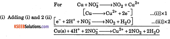 1st PUC Chemistry Question Bank Chapter 8 Redox Reactions - 60