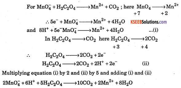 1st PUC Chemistry Question Bank Chapter 8 Redox Reactions - 63