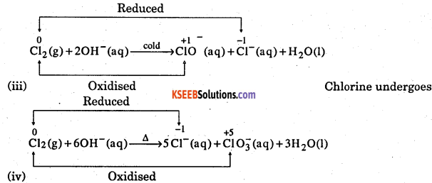 1st PUC Chemistry Question Bank Chapter 8 Redox Reactions - 72