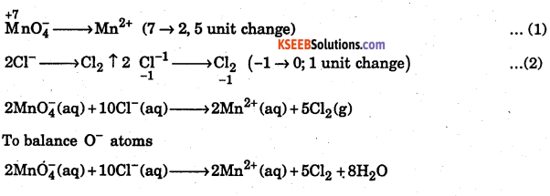 1st PUC Chemistry Question Bank Chapter 8 Redox Reactions - 87