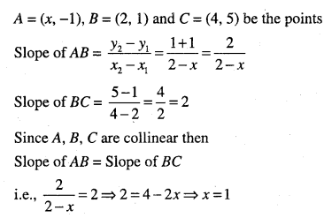 1st PUC Maths Question Bank Chapter 10 Straight Lines 42