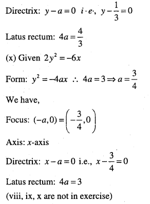 1st PUC Maths Question Bank Chapter 11 Conic Sections 28