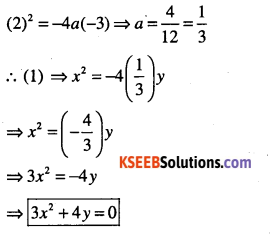 1st PUC Maths Question Bank Chapter 11 Conic Sections 33
