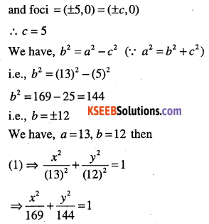 1st PUC Maths Question Bank Chapter 11 Conic Sections 52