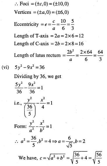 1st PUC Maths Question Bank Chapter 11 Conic Sections 71