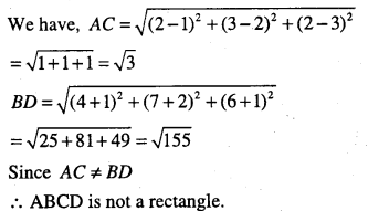 1st PUC Maths Question Bank Chapter 12 Introduction to Three Dimensional Geometry 25