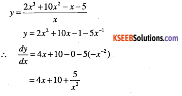 1st PUC Maths Question Bank Chapter 13 Limits and Derivatives 118