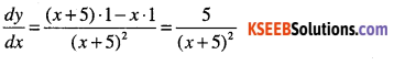 1st PUC Maths Question Bank Chapter 13 Limits and Derivatives 164