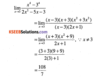 1st PUC Maths Question Bank Chapter 13 Limits and Derivatives 17