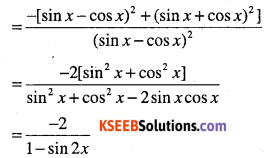 1st PUC Maths Question Bank Chapter 13 Limits and Derivatives 190