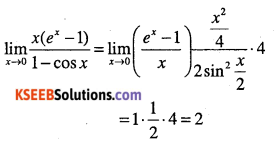 1st PUC Maths Question Bank Chapter 13 Limits and Derivatives 202