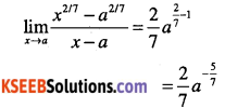 1st PUC Maths Question Bank Chapter 13 Limits and Derivatives 30