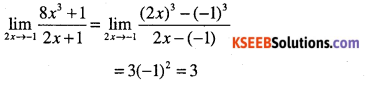 1st PUC Maths Question Bank Chapter 13 Limits and Derivatives 33