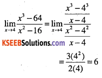 1st PUC Maths Question Bank Chapter 13 Limits and Derivatives 36