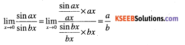 1st PUC Maths Question Bank Chapter 13 Limits and Derivatives 47