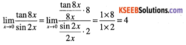1st PUC Maths Question Bank Chapter 13 Limits and Derivatives 51