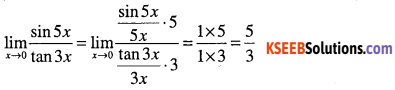 1st PUC Maths Question Bank Chapter 13 Limits and Derivatives 52