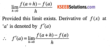 1st PUC Maths Question Bank Chapter 13 Limits and Derivatives 82