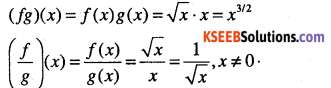 1st PUC Maths Question Bank Chapter 2 Relations and Functions 12