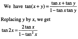 1st PUC Maths Question Bank Chapter 3 Trigonometric Functions 44