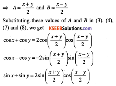 1st PUC Maths Question Bank Chapter 3 Trigonometric Functions 47