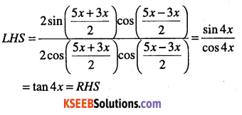 1st PUC Maths Question Bank Chapter 3 Trigonometric Functions 58