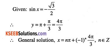 1st PUC Maths Question Bank Chapter 3 Trigonometric Functions 89