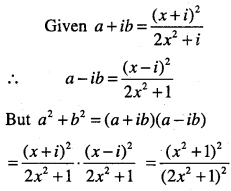 1st PUC Maths Question Bank Chapter 5 Complex Numbers and Quadratic Equations 21