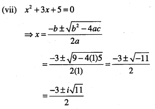1st PUC Maths Question Bank Chapter 5 Complex Numbers and Quadratic Equations 46