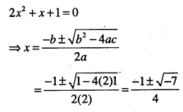 1st PUC Maths Question Bank Chapter 5 Complex Numbers and Quadratic Equations 47