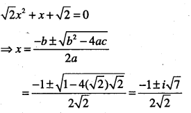 1st PUC Maths Question Bank Chapter 5 Complex Numbers and Quadratic Equations 51