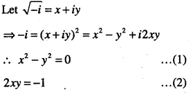 1st PUC Maths Question Bank Chapter 5 Complex Numbers and Quadratic Equations 53