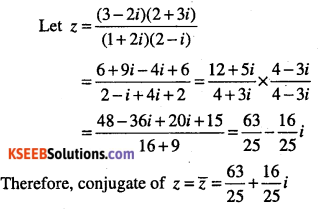 1st PUC Maths Question Bank Chapter 5 Complex Numbers and Quadratic Equations 9