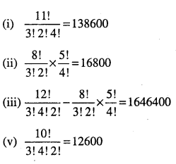 1st PUC Maths Question Bank Chapter 7 Permutations and Combinations 37