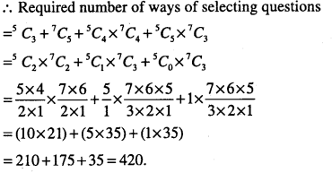 1st PUC Maths Question Bank Chapter 7 Permutations and Combinations 49