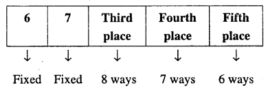 1st PUC Maths Question Bank Chapter 7 Permutations and Combinations 5