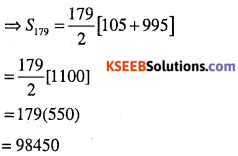 1st PUC Maths Question Bank Chapter 9 Sequences and Series 10
