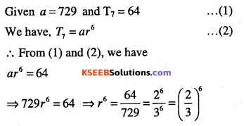 1st PUC Maths Question Bank Chapter 9 Sequences and Series 42