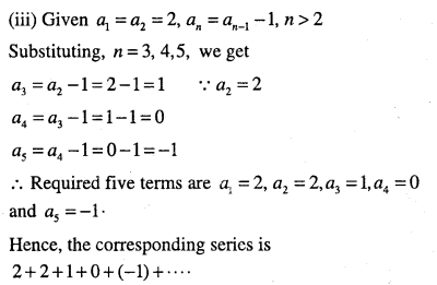 1st PUC Maths Question Bank Chapter 9 Sequences and Series 6