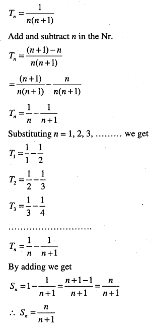 1st PUC Maths Question Bank Chapter 9 Sequences and Series 64