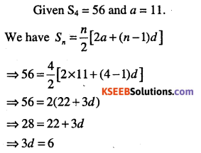 1st PUC Maths Question Bank Chapter 9 Sequences and Series 84