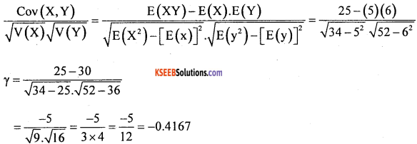 1st PUC Statistics Question Bank Chapter 10 Random Variables and Mathematical Expectation -2