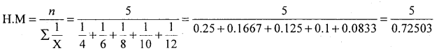 1st PUC Statistics Question Bank Chapter 5 Analysis of Univariate Data - 106