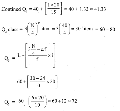 1st PUC Statistics Question Bank Chapter 5 Analysis of Univariate Data - 126