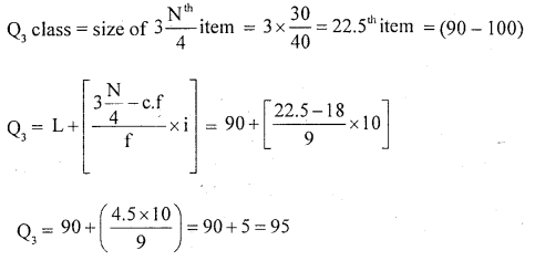 1st PUC Statistics Question Bank Chapter 5 Analysis of Univariate Data - 130