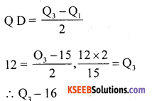 1st PUC Statistics Question Bank Chapter 5 Analysis of Univariate Data - 134