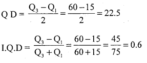 1st PUC Statistics Question Bank Chapter 5 Analysis of Univariate Data - 135