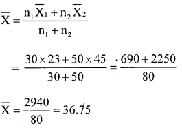 1st PUC Statistics Question Bank Chapter 5 Analysis of Univariate Data - 177